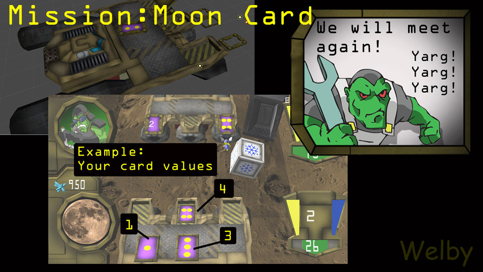 Mission: Moon Card samples